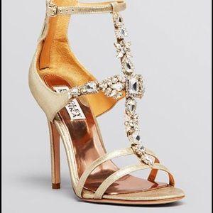 Badgley Mischka Giovani II rhinestone sandals